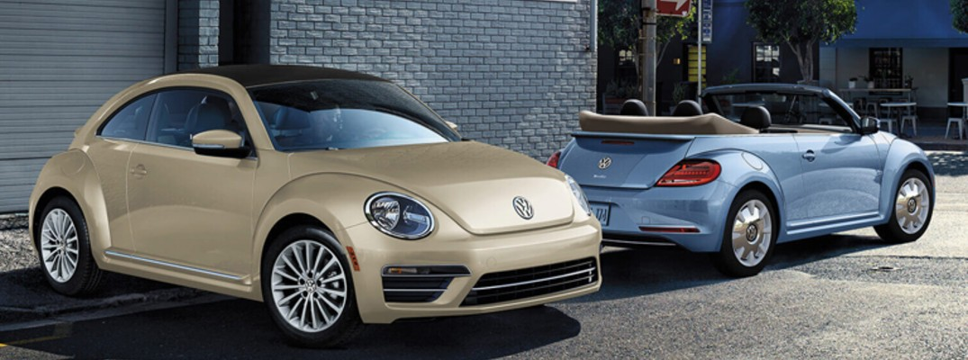 What features come with the 2019 Volkswagen Beetle?