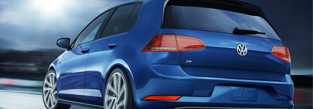 How much space is inside the VW Golf R?