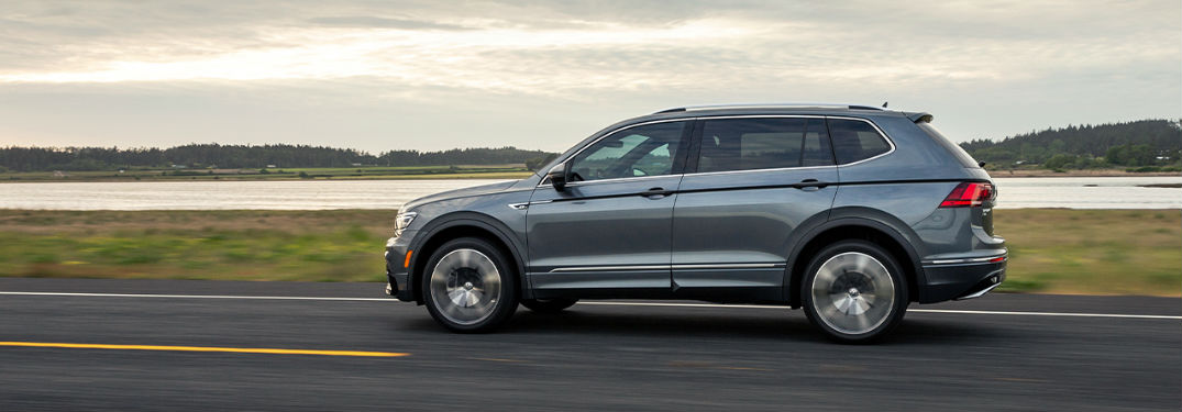 How much room in is the Volkswagen Tiguan?