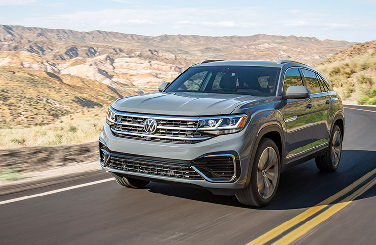 2020 Volkswagen Atlas Cross Sport in gray