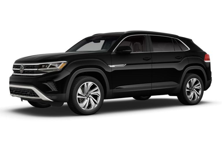 2020 Volkswagen Atlas Cross Sport in black