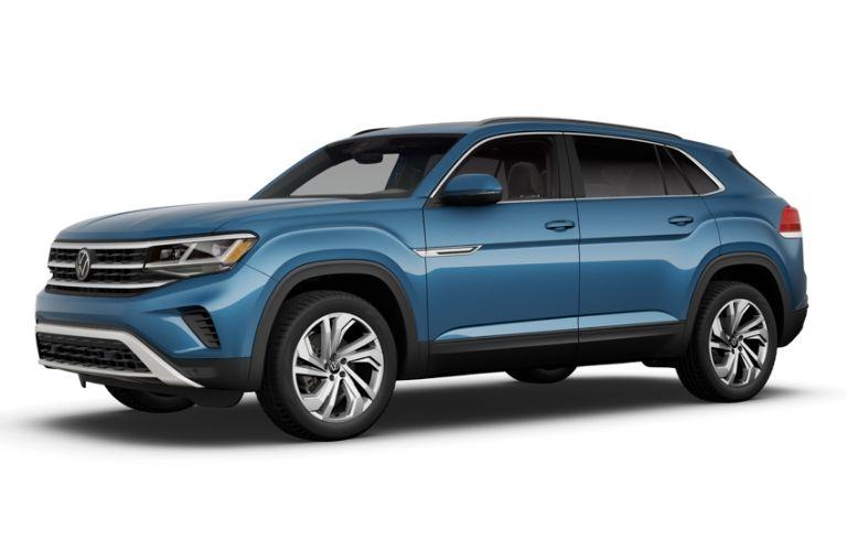 2020 Volkswagen Atlas Cross Sport in blue