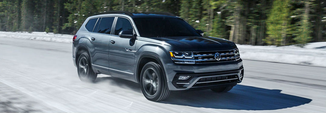 2020 Volkswagen Atlas in gray