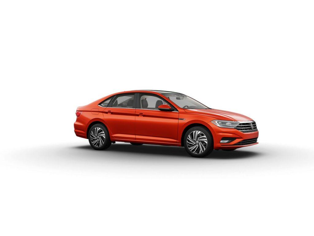 2020 Volkswagen Jetta in Habanero Orange Metallic