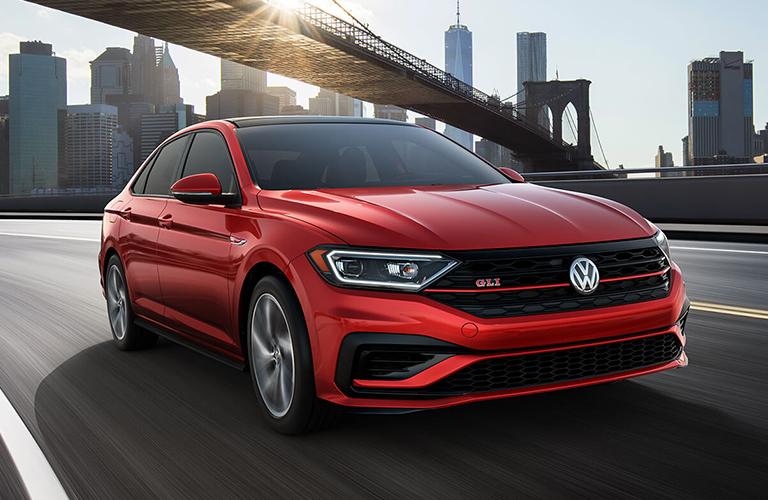 2020 Volkswagen Jetta GLI in red