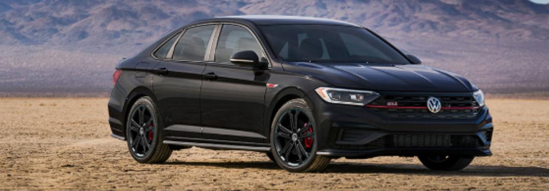 2020 Volkswagen Jetta GLI in black