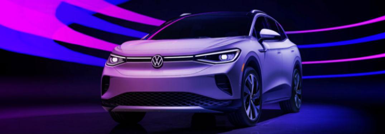 2021 Volkswagen ID.4 in white