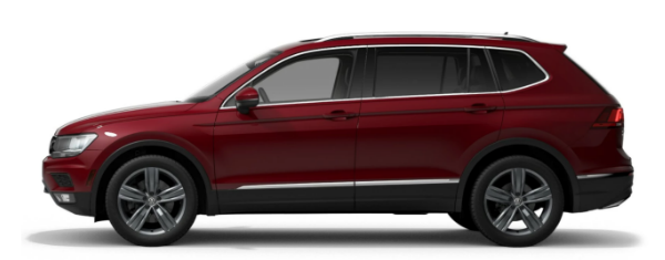 2021 Volkswagen Tiguan in Cardinal Red Metallic