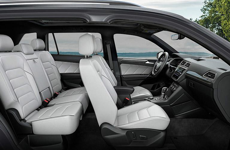 2021 Volkswagen Tiguan Legroom and Interior Volume