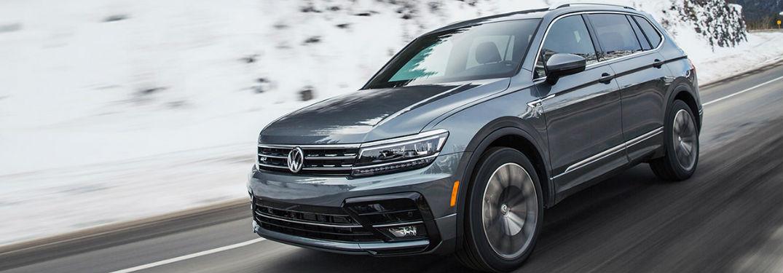 2021 Volkswagen Tiguan in gray