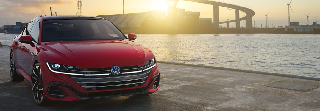 2021 Volkswagen Arteon parked by water