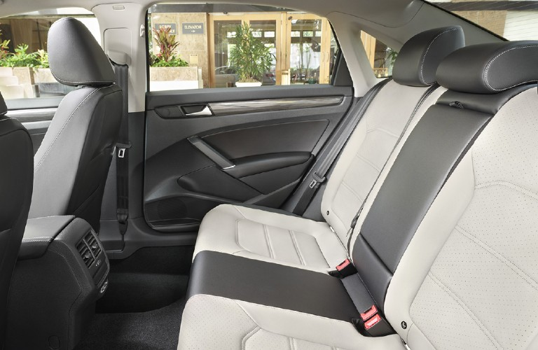 2021 Volkswagen Passat rear passenger seats