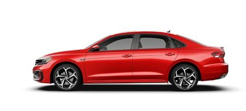 2021 Volkswagen Passat Aurora Red Metallic