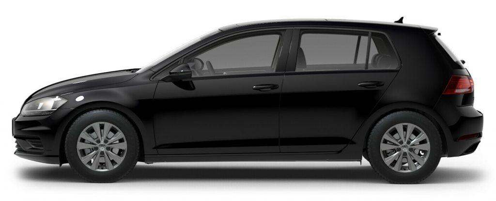 2021 Volkswagen Golf Deep Black Pearl