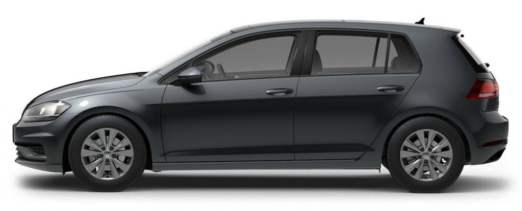 2021 Volkswagen Golf Platinum Gray Metallic