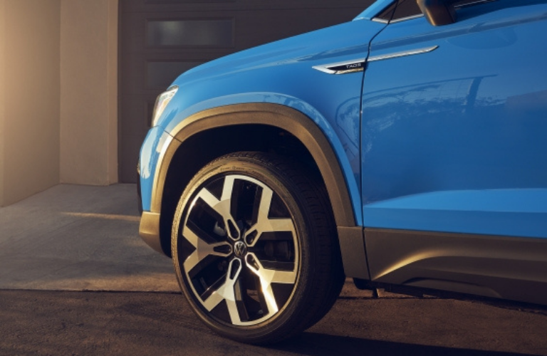 Wheel side view of the 2022 Volkswagen Taos