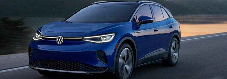 2021 Volkswagen ID.4 on road