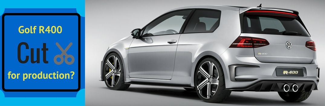 Will VW still be releasing the 2016 Golf R400?