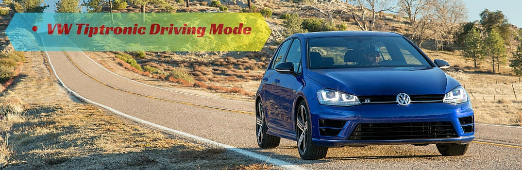 Volkswagen Tiptronic and Sport driving modes