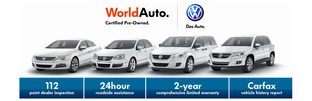 Certified Used Cars >> Worldauto Certified Used Cars Vs New Volkswagen