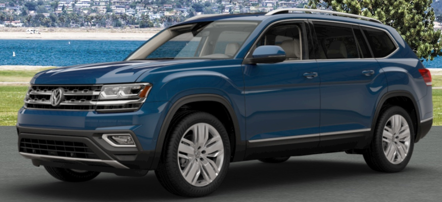 2018 volkswagen atlas color options