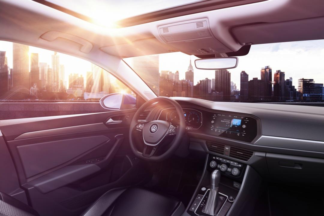 2019 VW Jetta Interior With Panoramic Sunroof
