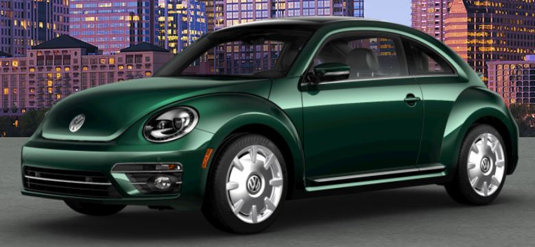 Gray Vw Beetle >> 2018 Volkswagen Beetle color options