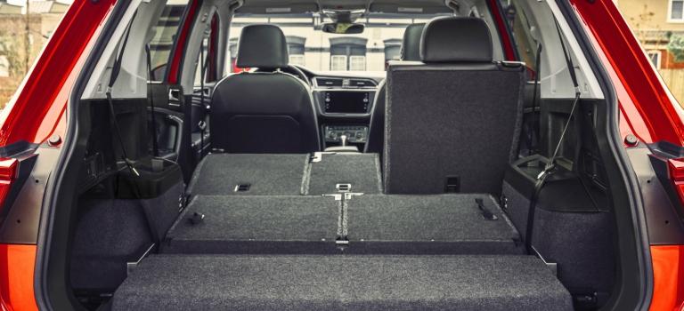 Seating capacity of the 2018 Volkswagen Tiguan