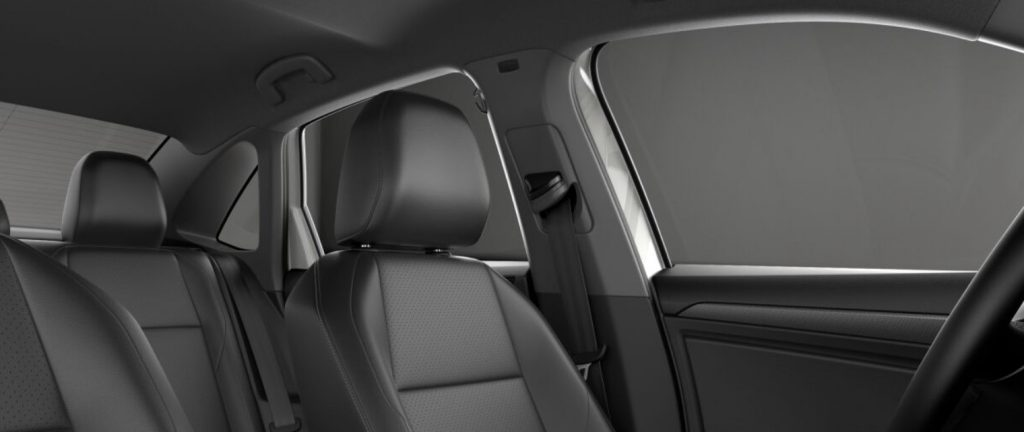 VW Jetta  gray seats