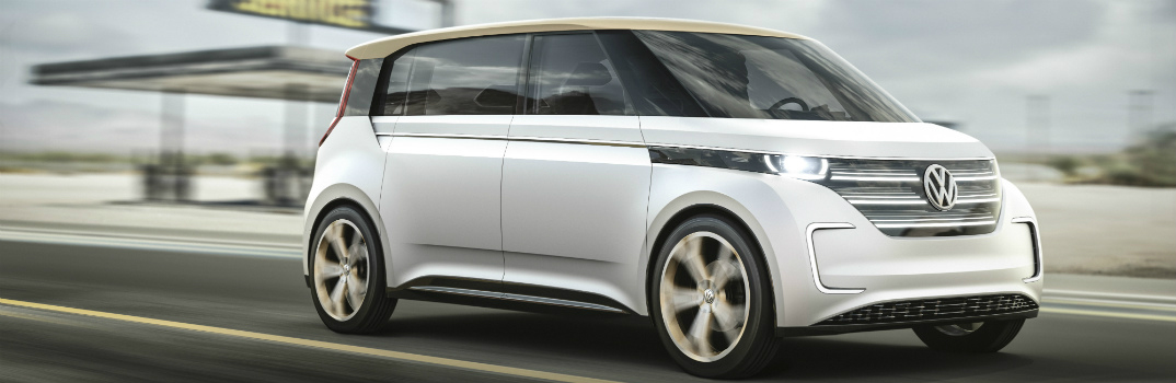 """VW BUDD-e Van Named """"2016 Concept Truck of the Year"""""""