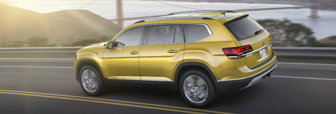 2018 Volkswagen Atlas Production Debut And Release Date