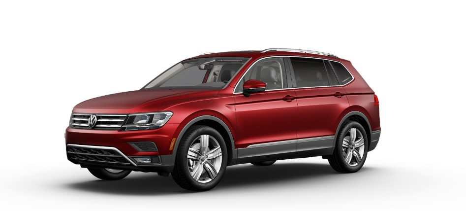 2020 VW Tiguan Cardinal Red Metallic