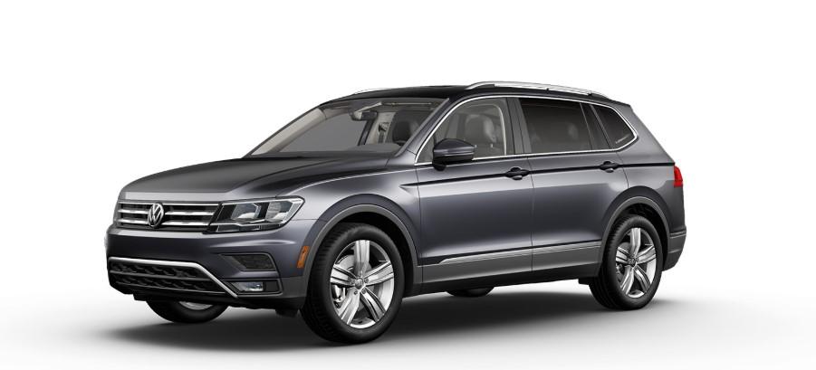 2020 VW Tiguan Platinum Grey Metallic