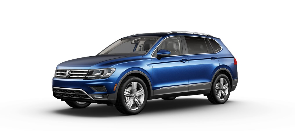 2020 VW Tiguan Silk Blue Metallic