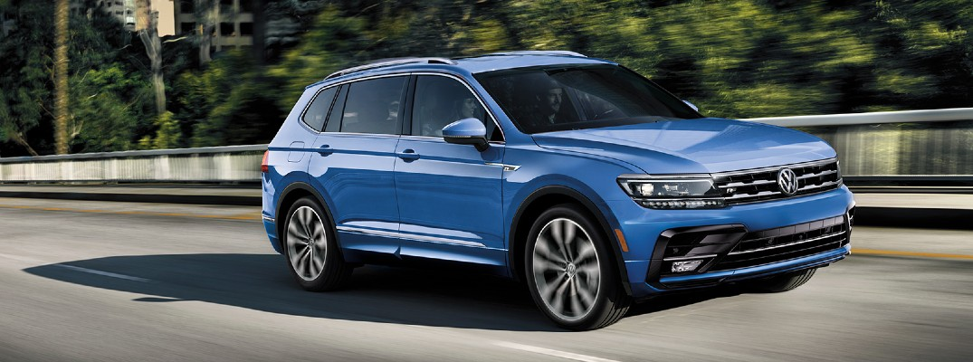 How many Colors does the 2020 Volkswagen Tiguan Come in?