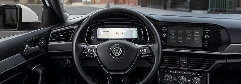 2020 Volkswagen Jetta interior digital Cockpit and infotainment screen shot