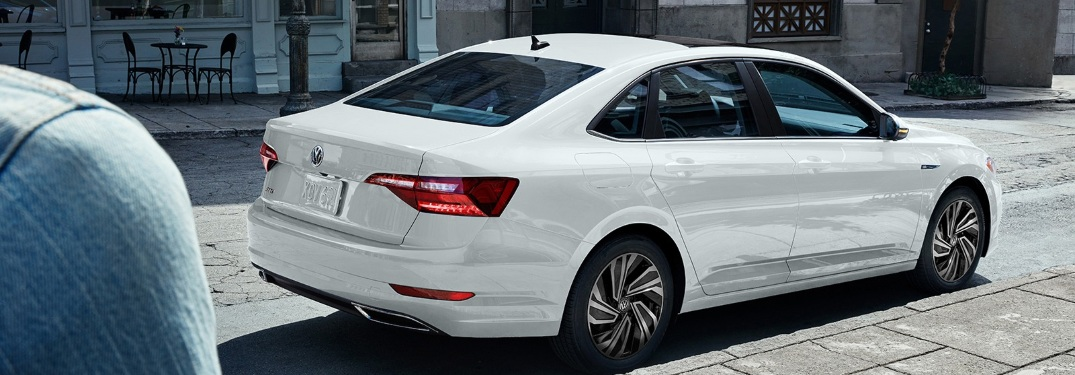 2020 Volkswagen Jetta parked on the side of the street