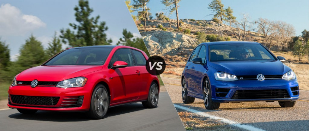 2016 Volkswagen Golf R vs GTI