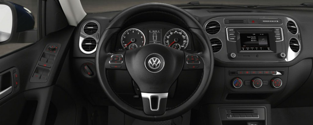 2016 Volkswagen Tiguan interior features