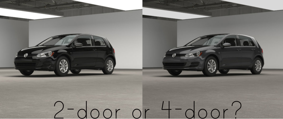 ... 2016 VW Golf 2 Door Vs 4 Door