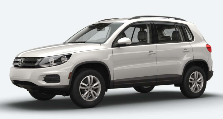 vw tiguan pure white o folsom lake volkswagen. Black Bedroom Furniture Sets. Home Design Ideas