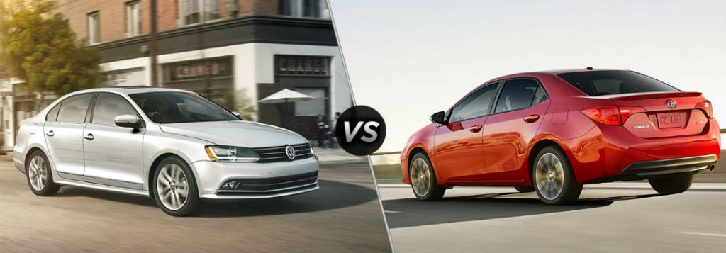 differences    jetta   corolla