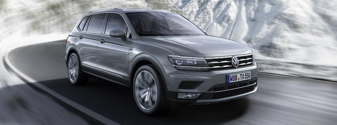 How many passengers can the 2017 VW Tiguan Allspace seat?