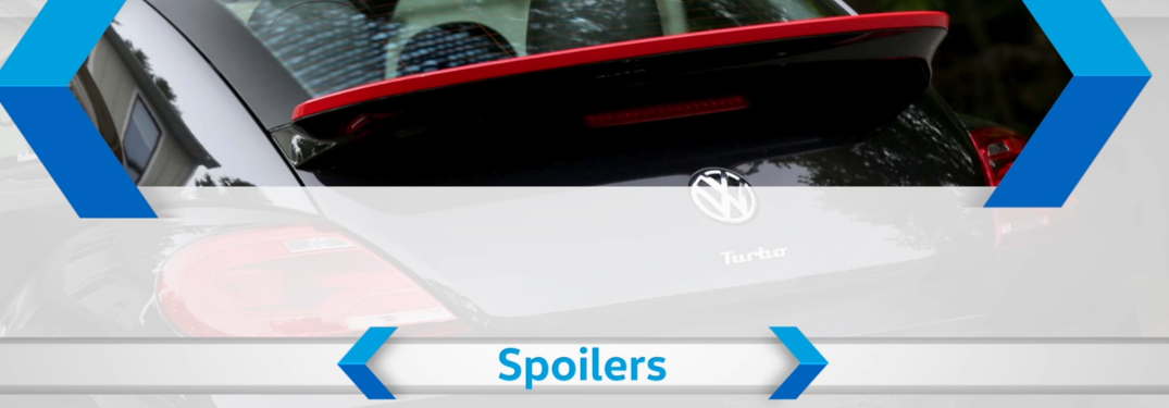 What type of spoilers accessories does Volkswagen offer?