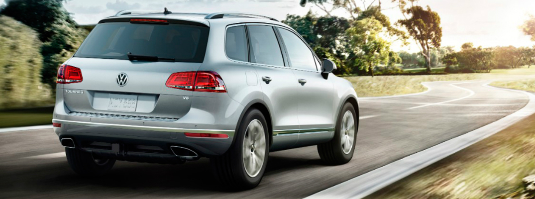 Performance and Safety Features of the 2017 Volkswagen Touareg Exterior