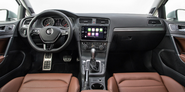 New Features on the 2018 Volkswagen Golf Alltrack Front Seats
