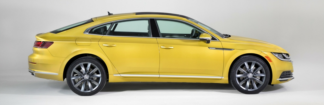 2019 Volkswagen Arteon on white background