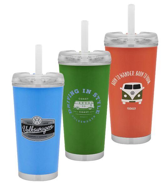 colorful volkswagen cups