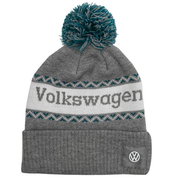 gray volkswagen hat
