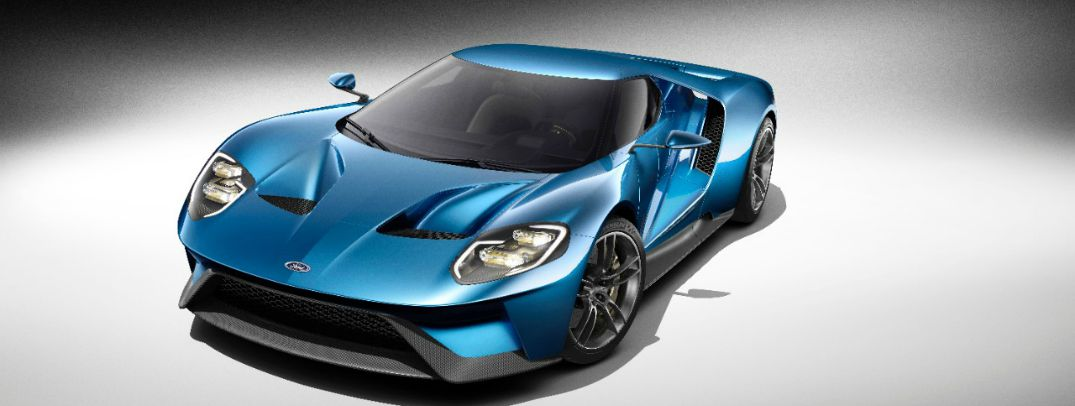 2017 Ford GT colors and trim levels